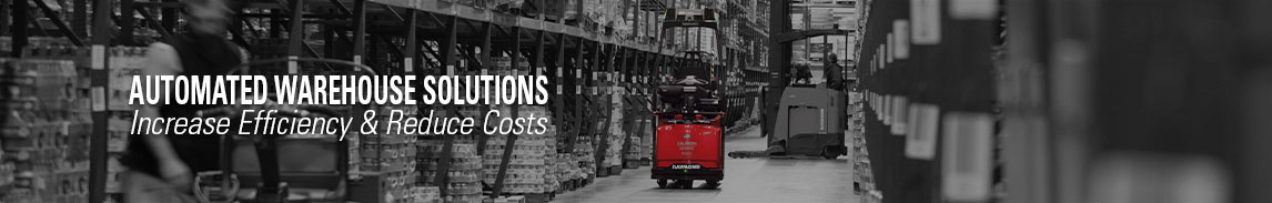 Increase efficiency and reduce costs with automated Raymond lift trucks and forklifts from Pengate Handling Systems