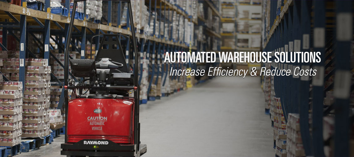 Increase operational efficiency and reduce costs with automated warehouse solutions from Pengate Handling Systems