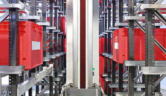 Automated material handling solutions: automated storage and retrieval systems (AS/RS)