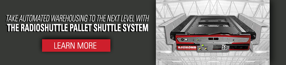Take automated warehousing to the next level with the Radioshuttle pallet shuttle system.