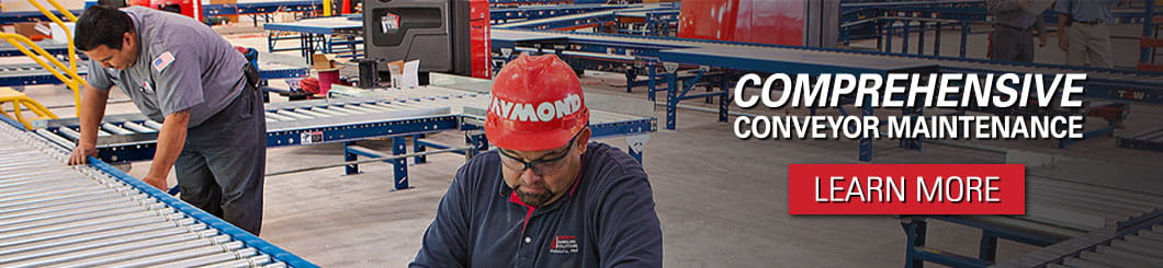 In addition to automated conveyors and conveyor systems, we also off comprehensive conveyor maintenance programs.