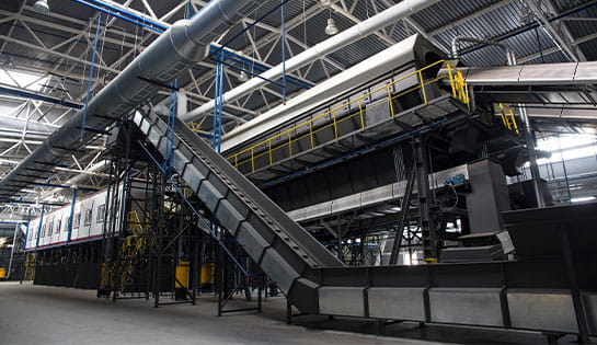 Our automated solutions include chain belt automated conveyors and conveyor systems