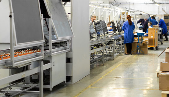 Our automated solutions include MRF sortation line automated conveyors and conveyor systems