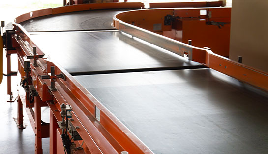 Our automated solutions include slider bed automated conveyors and conveyor systems