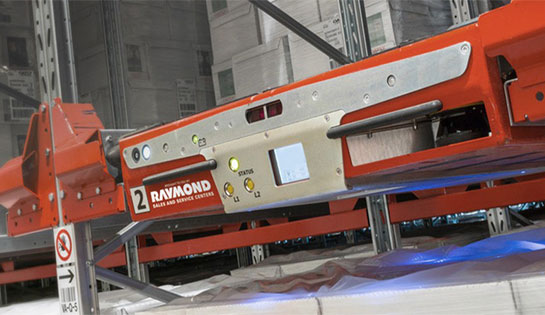 The Radioshuttle pallet runner is a flexible, semi-automated, high-density storage system