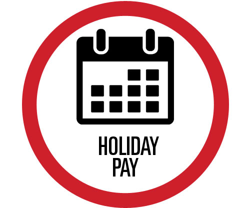 Pengate employee benefit: Holiday Pay