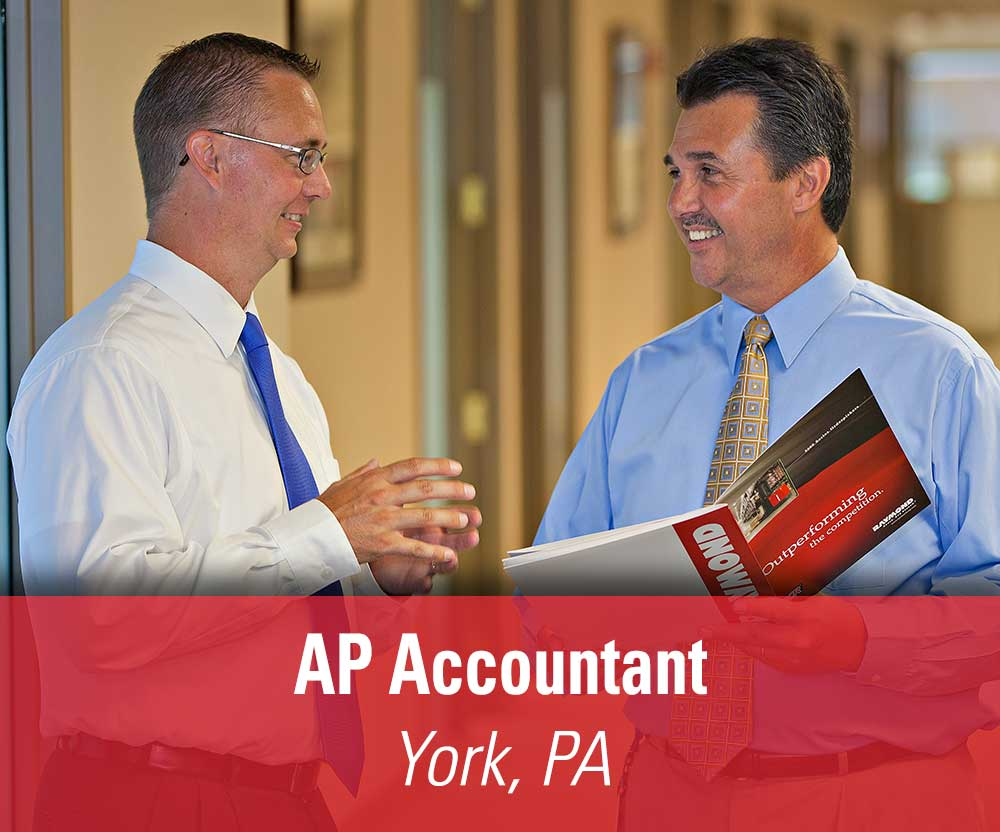 View job details for our available Accounts Payable Accountant position in York, PA.