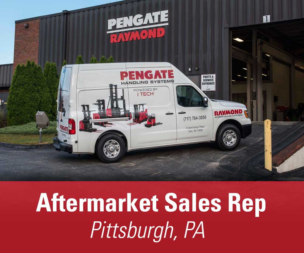 View job details for our available Aftermarket Sales Rep position in Pittsburgh, PA.