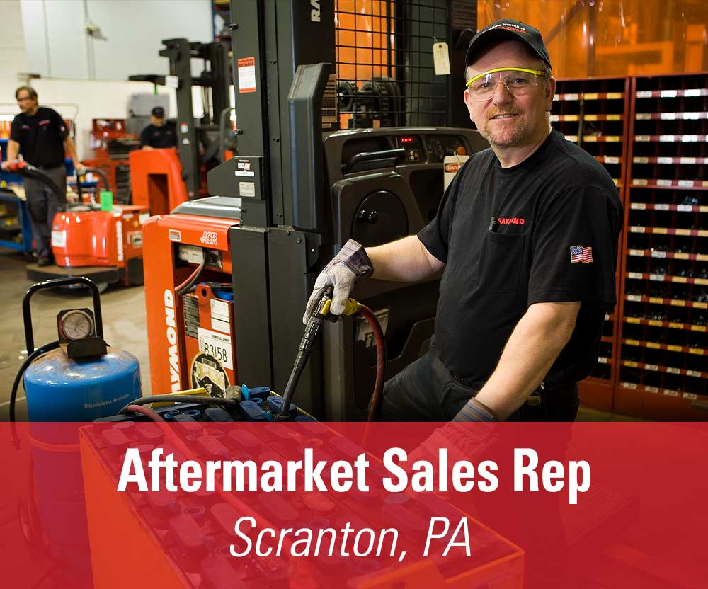 View job details for our available Aftermarket Sales Rep position in Scranton, PA