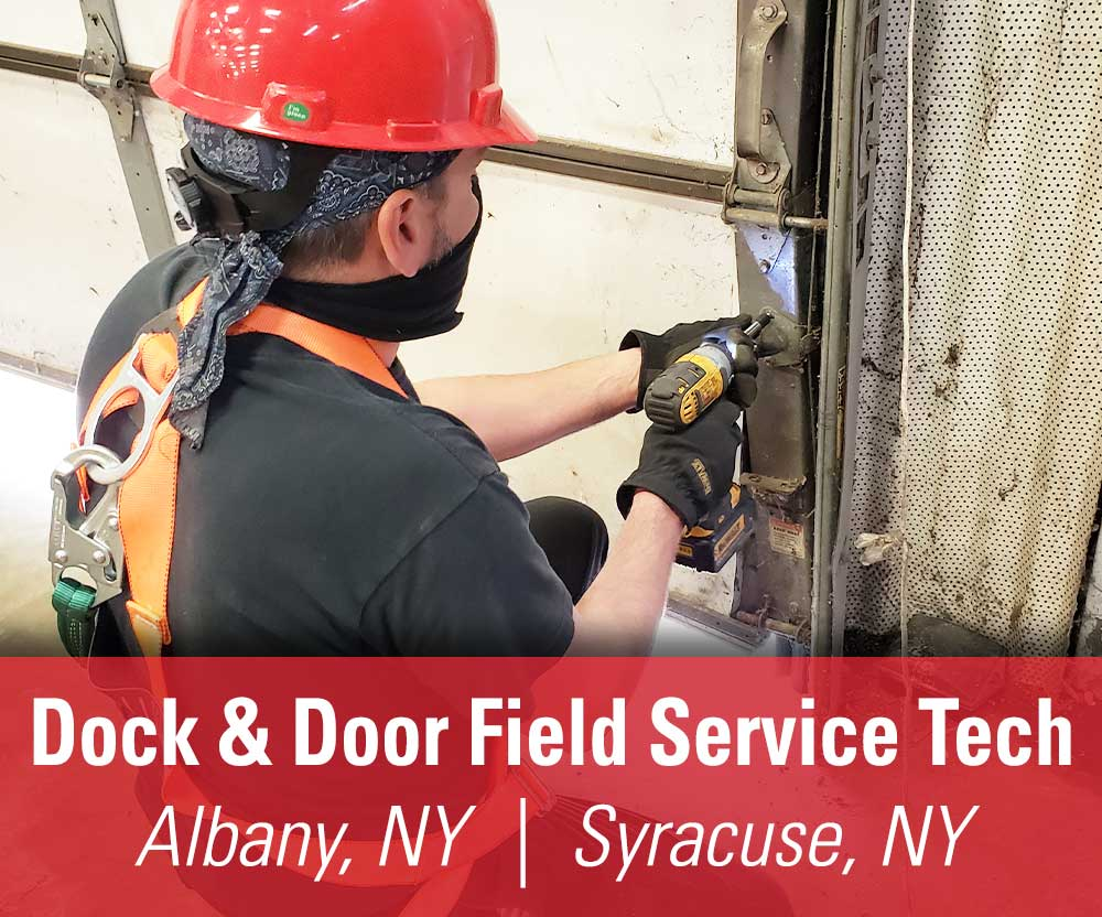 View job details for our available Dock & Door Field Service Technician positions in Albany, NY and Syracuse, NY