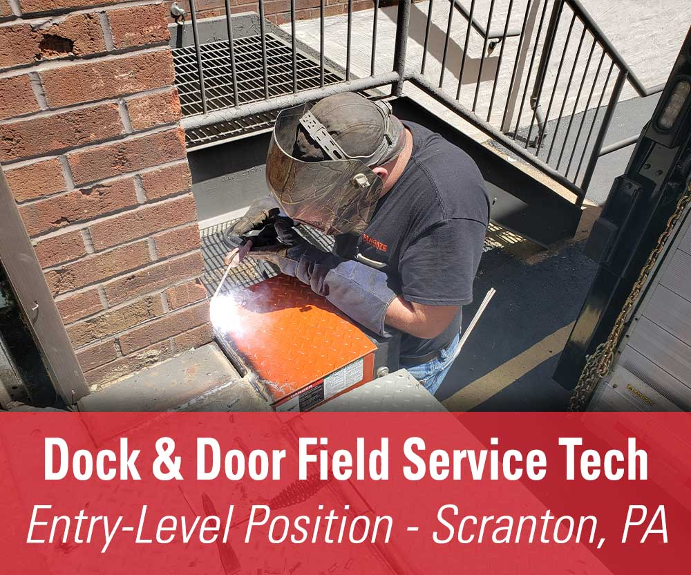 View job details for our available Entry Level Dock & Door Field Service Tech position in Scranton, PA.