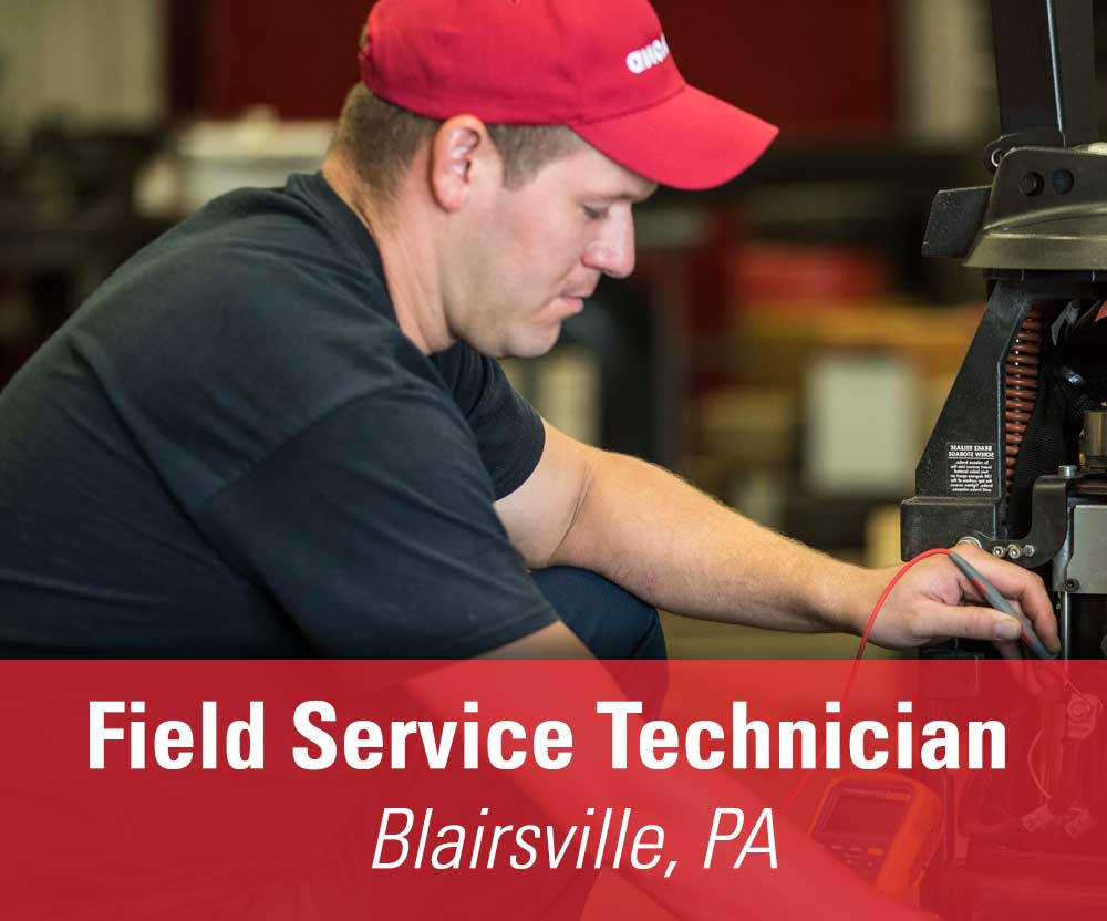 View job details for our available Field Service Technician position in Blairsville, PA.