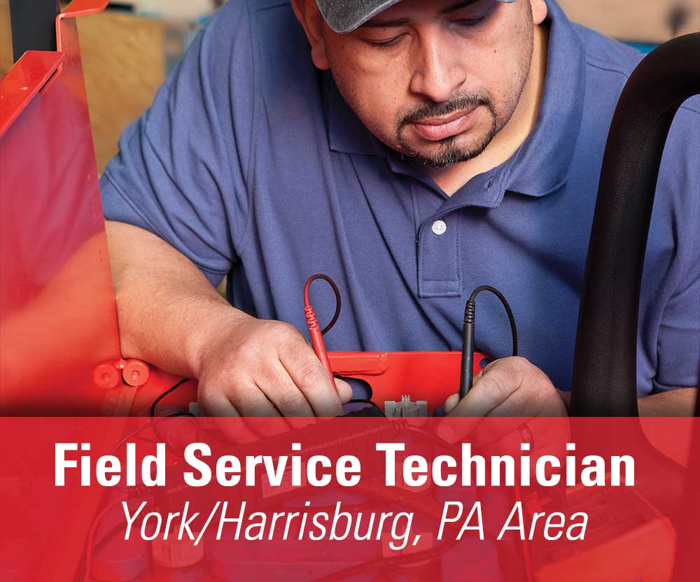 View job details for our available Field Service Technician position for the York/Harrisburg, PA area.