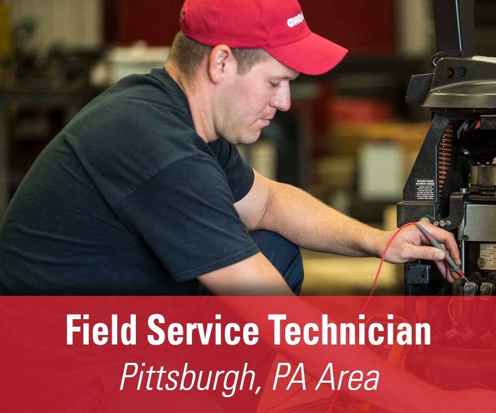 View job details for our available Field Service Technician position for the Pittsburgh, PA area.