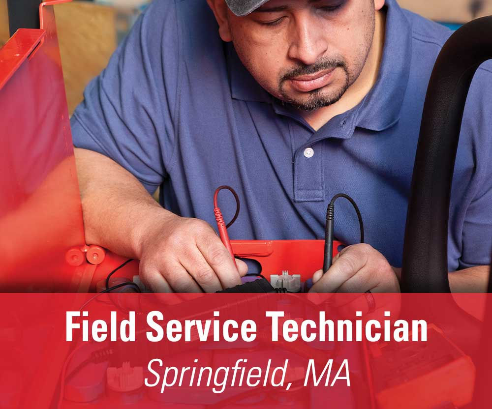 View job details for our available Field Service Technician position in Springfield, MA.