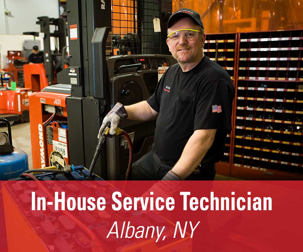 View job details for our available In-House Service Technician position in Albany, NY.