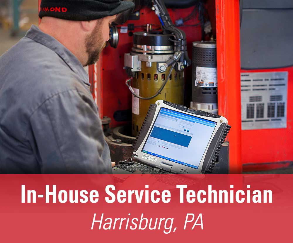 More details about our available In-House Service Technician position in Harrisburg, PA.