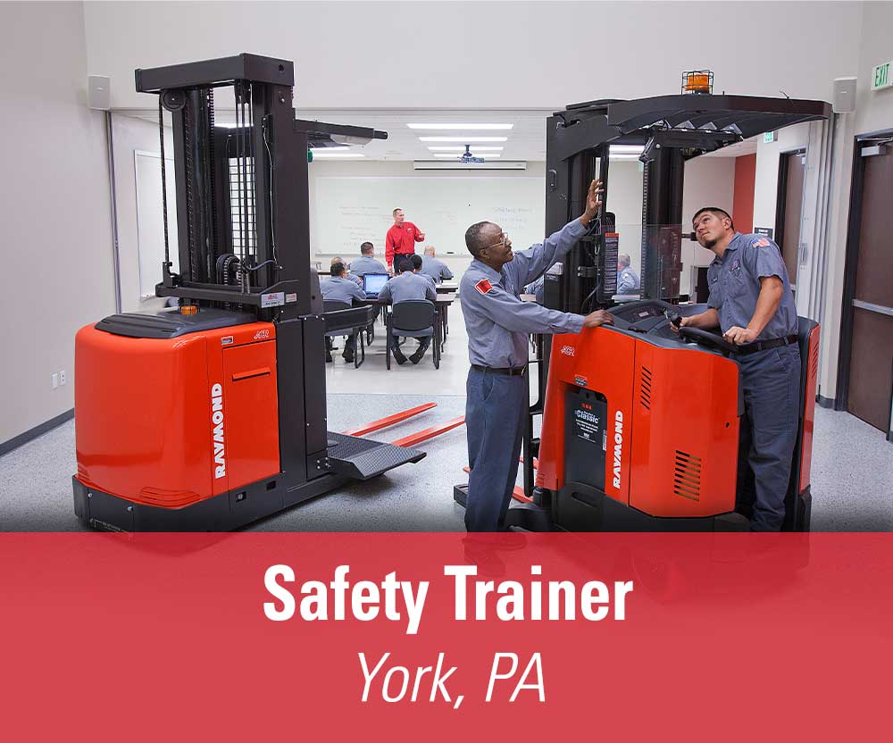 View job details for our available Safety Trainer position in York, PA.