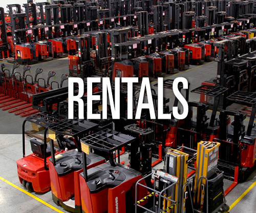 Forklift rentals, lift truck rentals and warehouse equipment rentals from Pengate Handling Systems