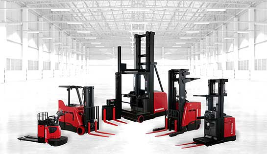 New electric lift trucks and pallet jacks from The Raymond Corporation