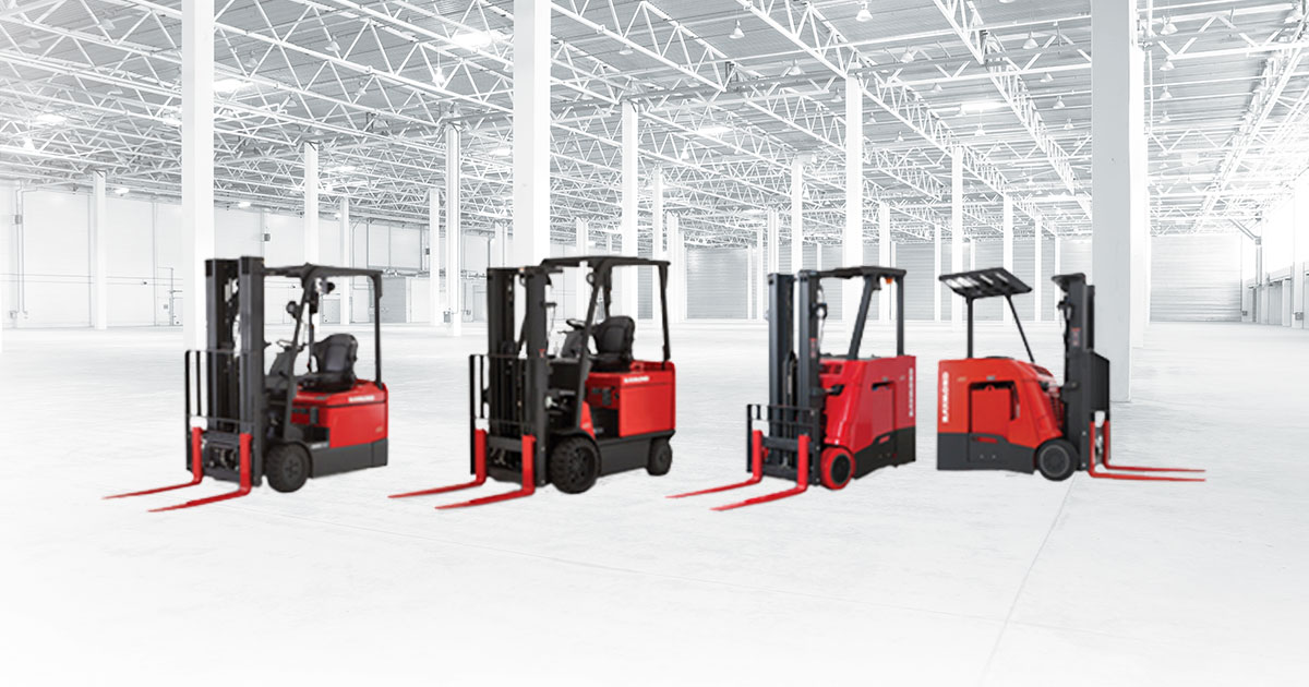 Stand Up Forklift Sit Down Forklift Electric Forklifts