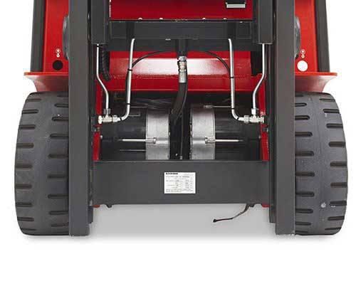 Raymond electric sit down and stand up counterbalance lift trucks have excellent affordability