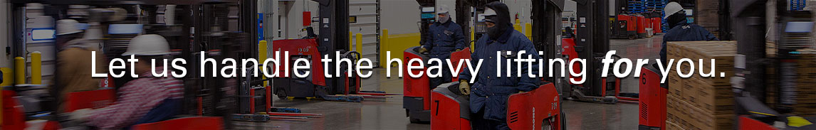 Forklifts, lift trucks, and pallet jacks from Pengate Handling Systems