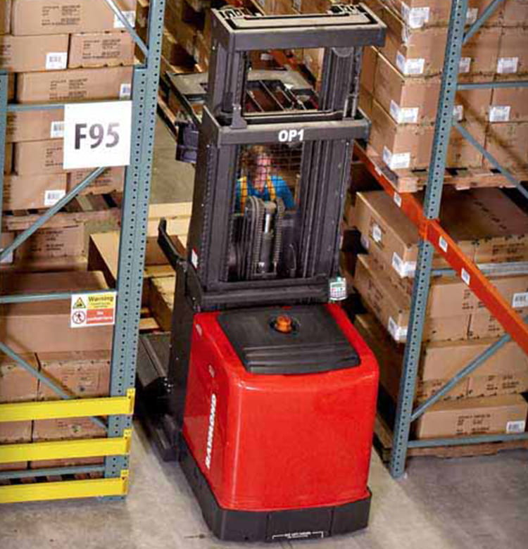 Raymond electric order picker forklifts and 5000 series order picker lift trucks