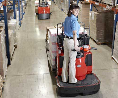 Raymond electric pallet jacks and motorized pallet jacks have excellent eco-performance