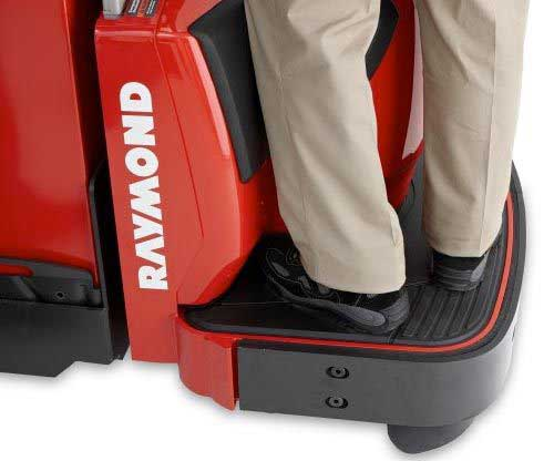 Raymond electric pallet jacks and motorized pallet jacks are ergonomic and possess excellent safety features