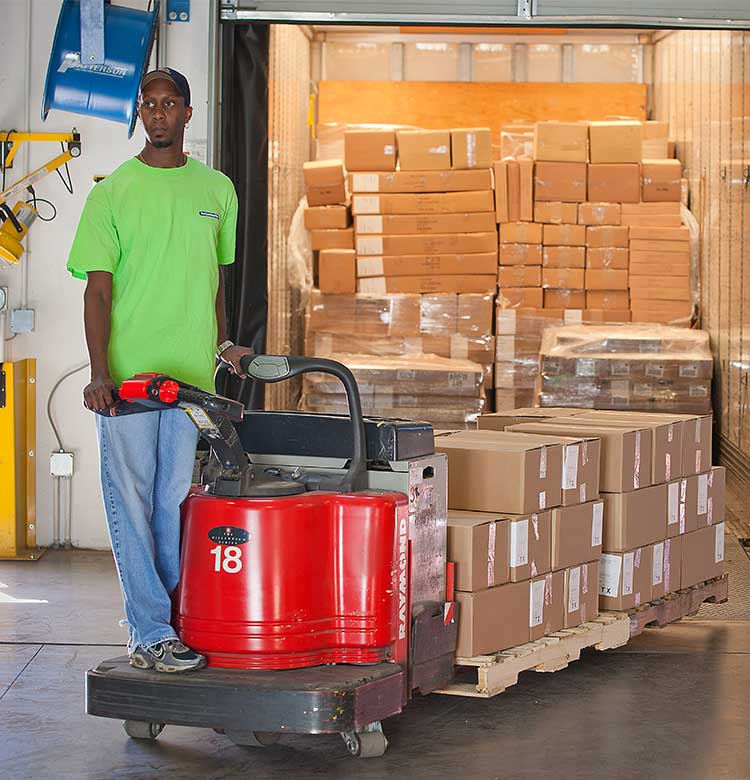 Raymond electric pallet jacks and 8000 series pallet trucks