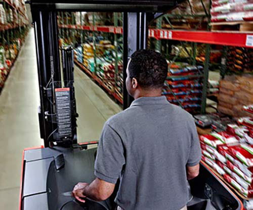 Raymond electric reach fork trucks are proven to increase warehouse productivity