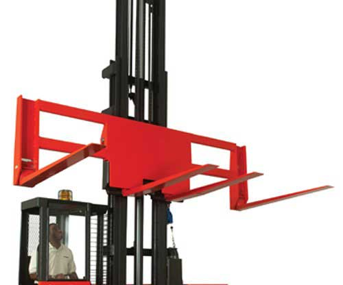 Raymond electric side loader lift trucks have excellent durability