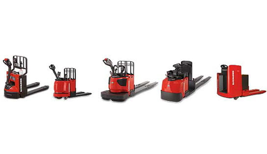 Browse our selection of electric motorized pallet jacks