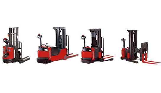 Browse our selection of walkie pallet stackers