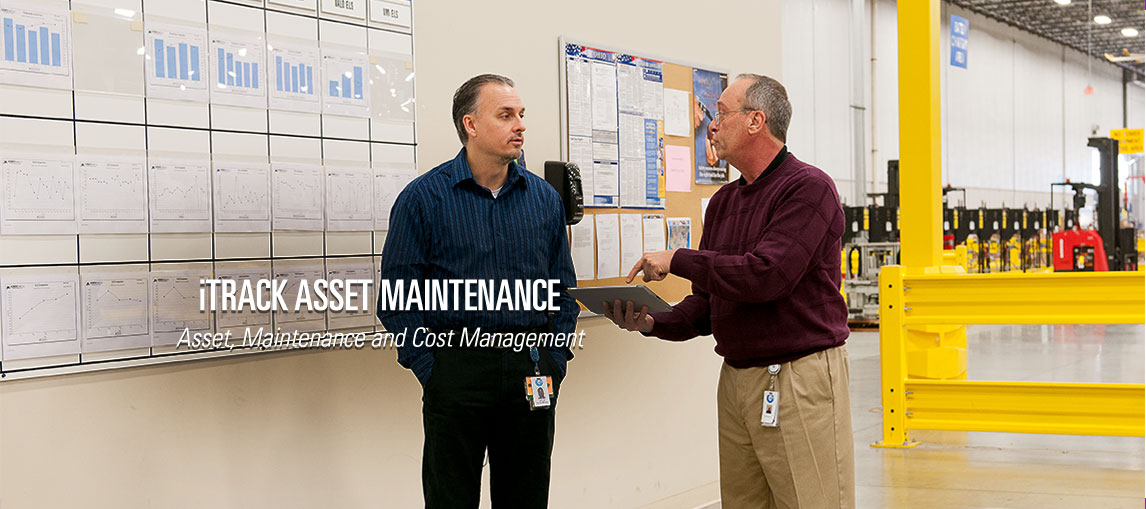 The iTRACK asset maintenance system allows you to track your asset maintenance and cost management on a single, scalable platform