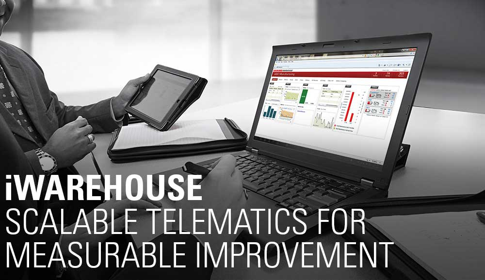 iWAREHOUSE - Scalable telematics for measurable improvement
