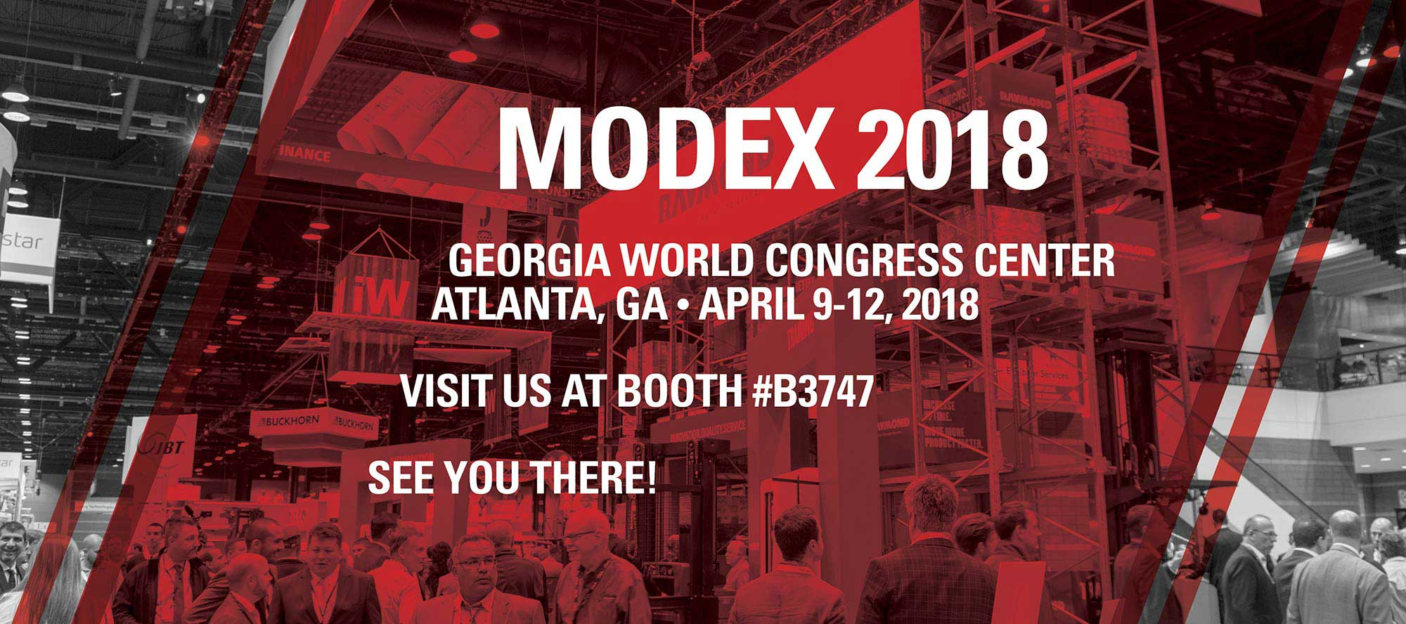 Visit the Raymond Corporation for MODEX 2018 at the Georgia World Congress Center in Atlanta, GA to be held April 9-12, 2018