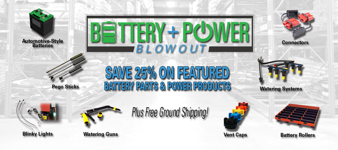 Power Up with Pengate! Now through September 30th, enjoy 25% off select battery parts & power products, plus free ground shipping.