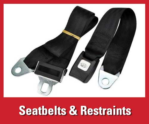 25% off featured warehouse safety products: forklift seat belts and restraints