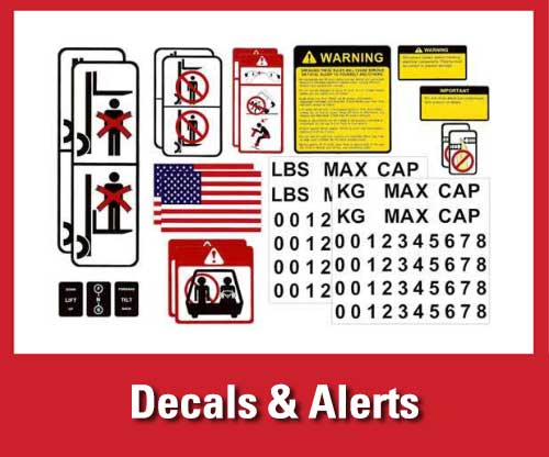 25% off featured warehouse safety products: decals and alerts