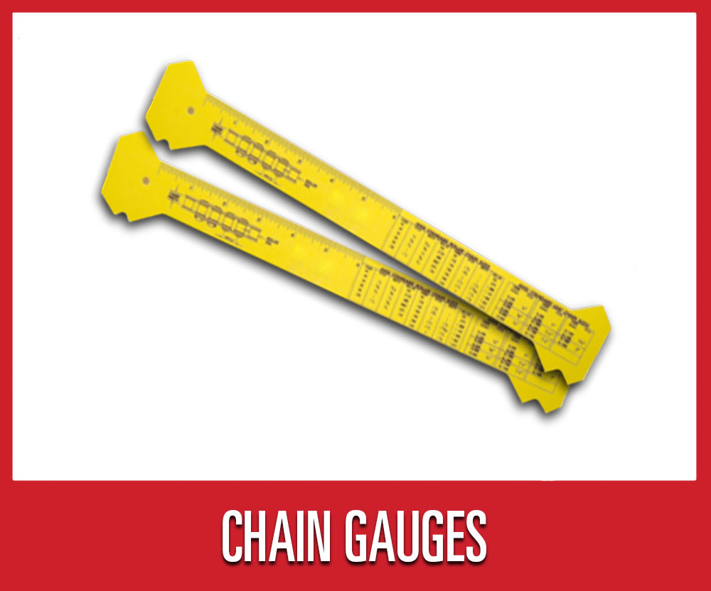 Save 25% on warehouse shop supplies and tools, including select chain gauges