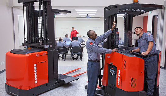 Pengate offers a vast selection of forklift operator and pedestrian training solutions.