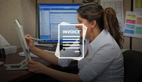 Features of the iTRACK asset maintenance system: consolidated invoicing