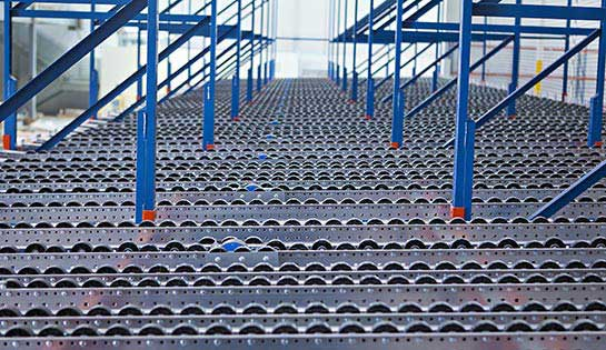 Our warehouse products include pallet racking and storage solutions.