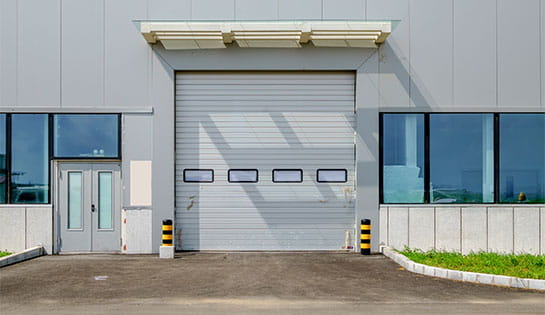 Pengate's dock and door products include commercial warehouse dock doors.