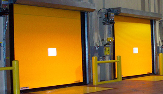 Pengate's dock and door products include high-speed roll up dock doors.
