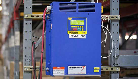 Electric forklift battery chargers for sales