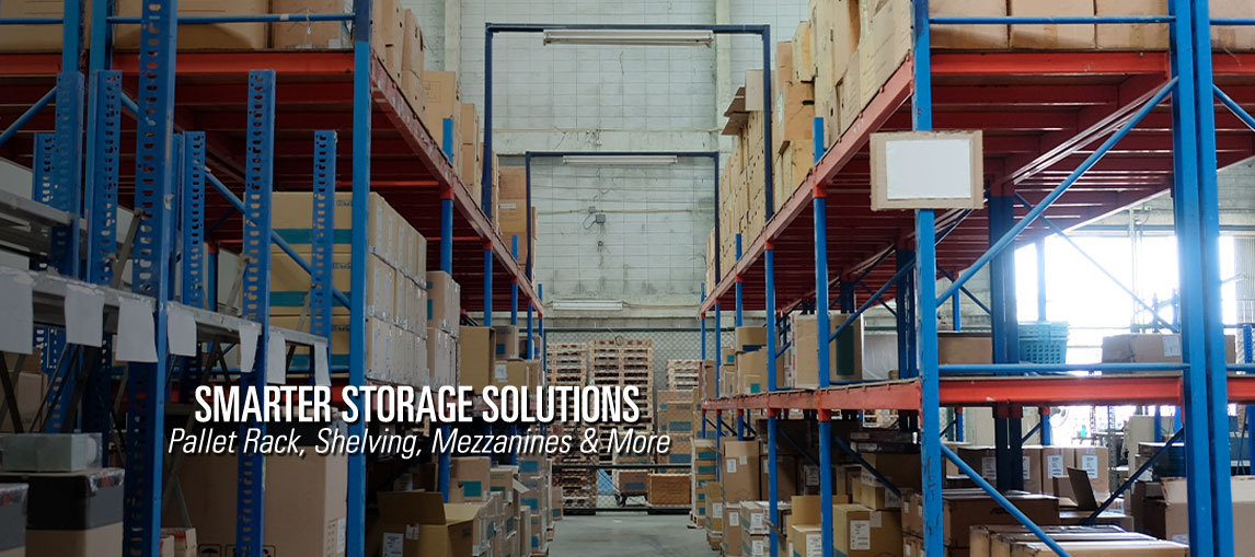 Get smarter storage solutions from Pengate, including warehouse pallet racking, shelving configurations, warehouse mezzanines and more.