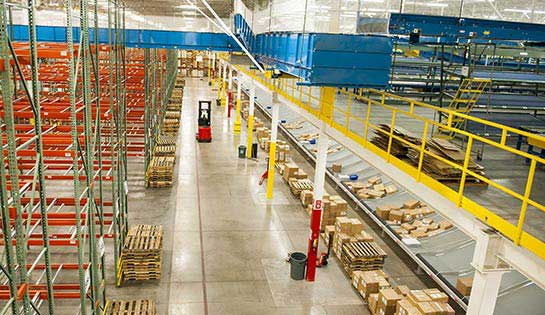 Pengate's comprehensive warehouse storage solutions and storage systems include warehouse mezzanines.